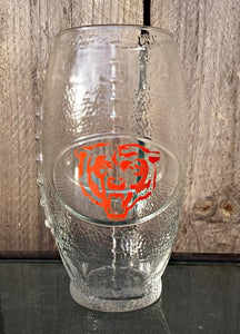NFL Football Shaped Drinking Tumblers Chicago Bears Sports Team Custom Personalized Mancave Mancrafted