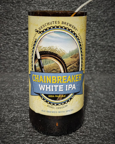 Deschutes Chainbreaker White IPA Beer Bottle Scented Soy Candle
