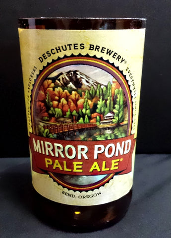 Deschutes Mirror Pond ManCrafted Beer Bottle Scented Soy Candles for mancave