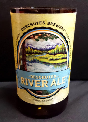 Deschutes River Ale ManCrafted Beer Bottle Scented Soy Candles for mancave