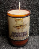 Founders Backwoods Bastard ManCrafted Beer Bottle Scented Soy Candles for mancave