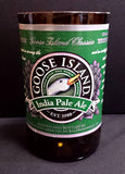 Goose island ipa ManCrafted Beer Bottle Scented Soy Candles for mancave