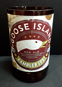 Goose Island Rambler IPA ManCrafted Beer Bottle Scented Soy Candles for mancave
