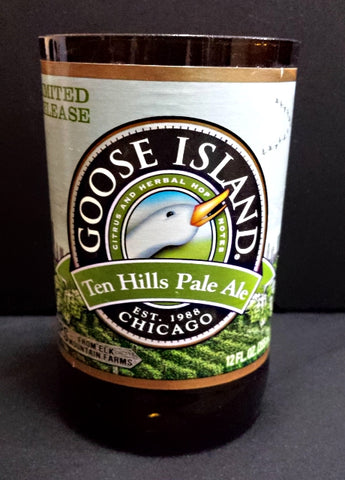 Goose island ten hills ManCrafted Beer Bottle Scented Soy Candles for mancave