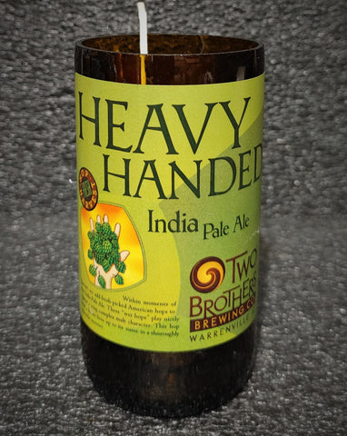 Heavy Handed IPA Beer Bottle Scented Soy Candle