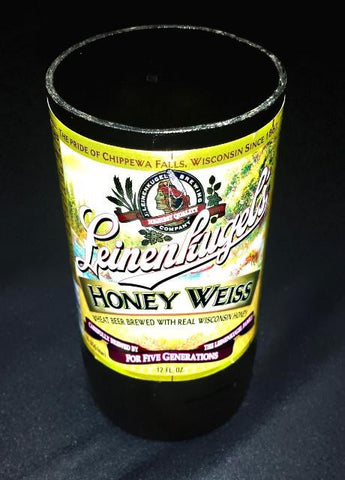 Honey Weiss ManCrafted Beer Bottle Scented Soy Candles for mancave