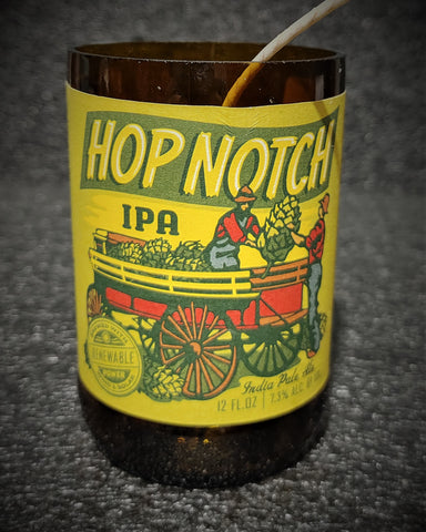 Hop Notch IPA Beer Bottle Scented Soy Candle