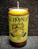Hopslam Ale Beer Bottle Scented Soy Candle ManCrafted