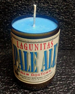Lagunitas New Dogtown ManCrafted Beer Bottle Scented Soy Candles for mancave
