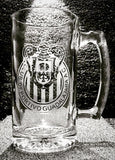 Mexico Soccer Team Chivas Beer mug soccer team logo personalized Name futbol cerveza