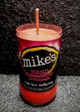 Mike's Hard Black Cherry Lemonade Beer Bottle Scented Soy Candle