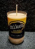 Mike's Hard Lemonade Beer Bottle Scented Soy Candle