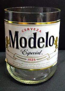 Cerveza Modelo ManCrafted Beer Bottle Scented Soy Candles for mancave