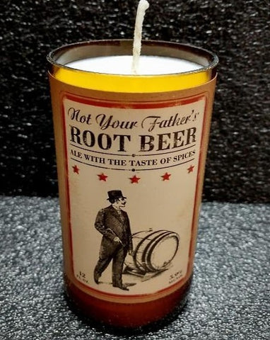 Not Your Father's Root Beer Bottle Scented Soy Wax Candle