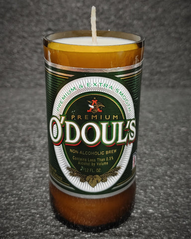 O'Doul's Non-Alcoholic Beer Bottle Scented Soy Candle