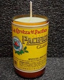 Pacifico Clara ManCrafted Beer Bottle Scented Soy Candles for mancave