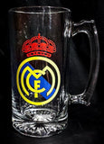 Real Madrid Personalized 25oz Beer Mug
