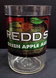 Redds Green Apple Ale ManCrafted Beer Bottle Scented Soy Candles for mancave