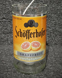 Schofferhofer Grapefruit Beer Bottle Scented Soy Candle