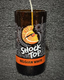Shock Top Belgian White Beer Bottle Scented Soy Candle