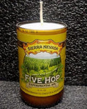Sierra Nevada Experimental IPA Five Hop ManCrafted Beer Bottle Scented Soy Candles for mancave