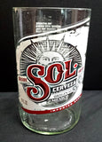 Sol cerveza mexican ManCrafted Beer Bottle Scented Soy Candles for mancave