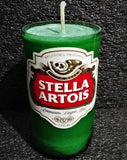 Stella ManCrafted Beer Bottle Scented Soy Candles for mancave