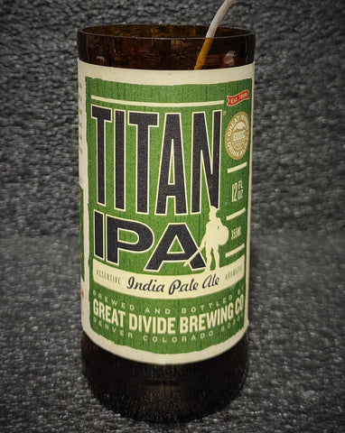 Titan IPA Beer Bottle Scented Soy Candle