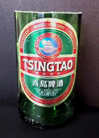 Tsingtao Chinese ManCrafted Beer Bottle Scented Soy Candles for mancave
