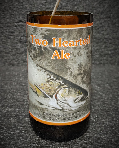 Two Hearted Ale Beer Bottle Scented Soy Candle
