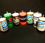 ManCrafted Beer Bottle Scented Soy Candles for mancave