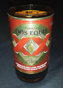 Dos Equis ManCrafted Beer Bottle Scented Soy Candles for mancave