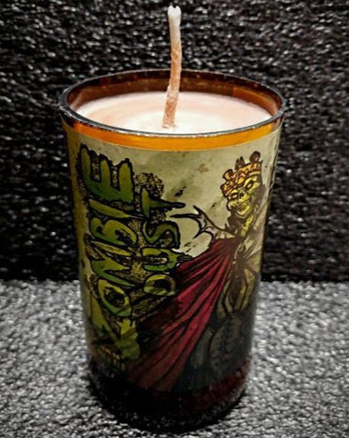 Zombie Dust Craft Beer Bottle Candle Scented Soy Wax ManCrafted