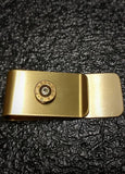 9mm Brass Bullet money Clip