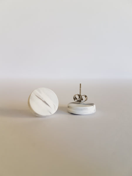 Earrings by Finch Creations - Marble