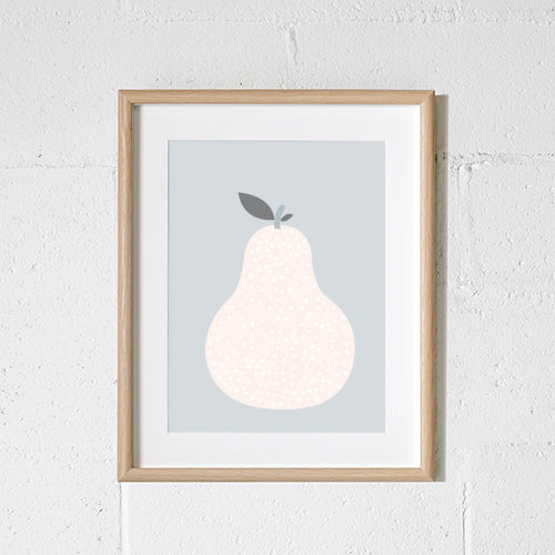 'SCANDI PEAR' Print by Sprout and Sparrow
