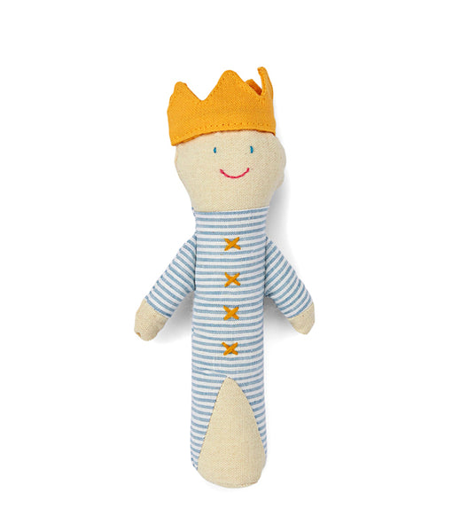 Baby King Baby Rattle by Nana Huchy