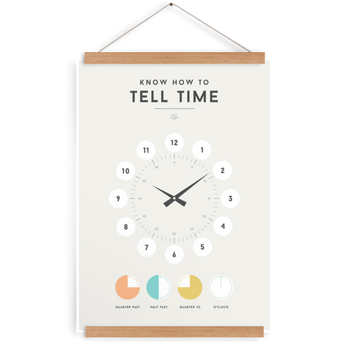 'TELL TIME' by Squared Charts
