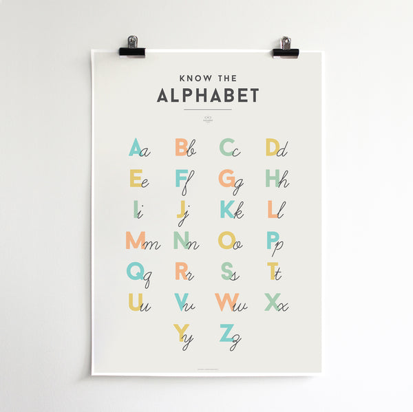 'ALPHABET' by Squared Charts
