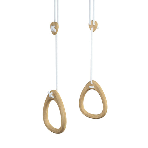 Gymnastics Rings by Lillagunga - Oak