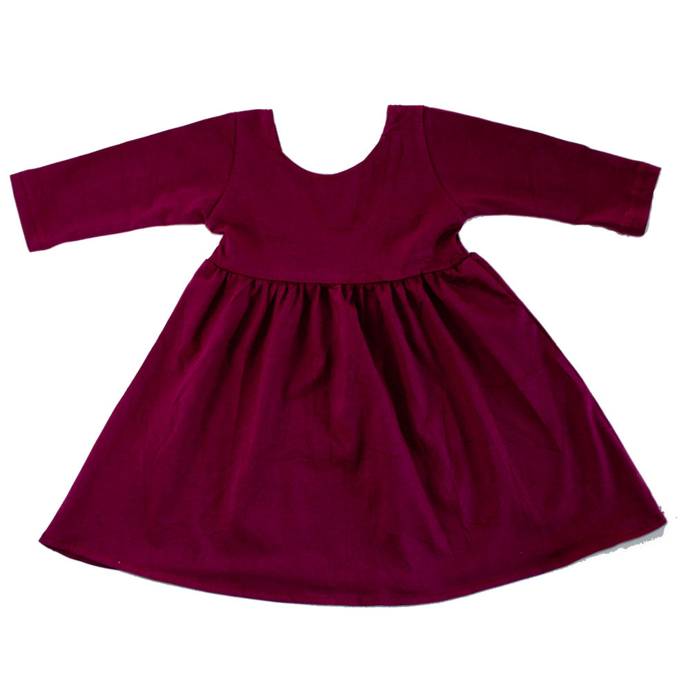 Swing Dress Berry