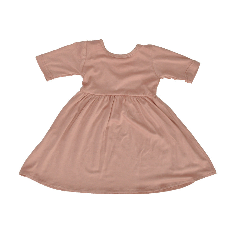 Swing Dress in Blush