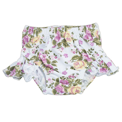 Flutter Bloomers White Floral