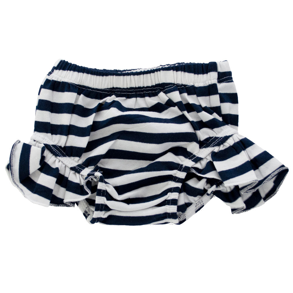 Flutter Bloomers Navy Stripes