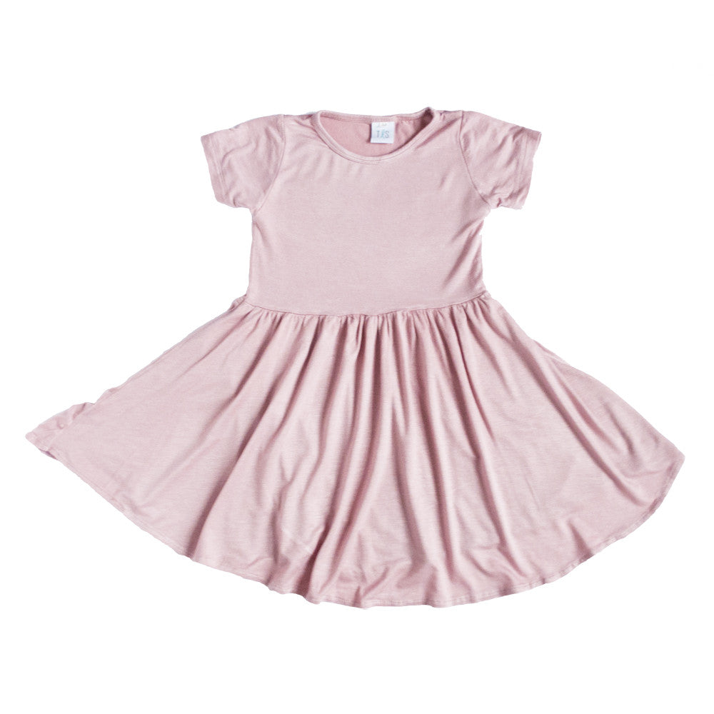 Swing Dress Blush