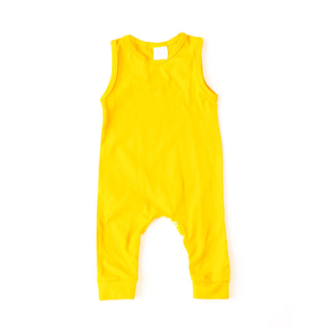 Tank Romper Sunshine Yellow