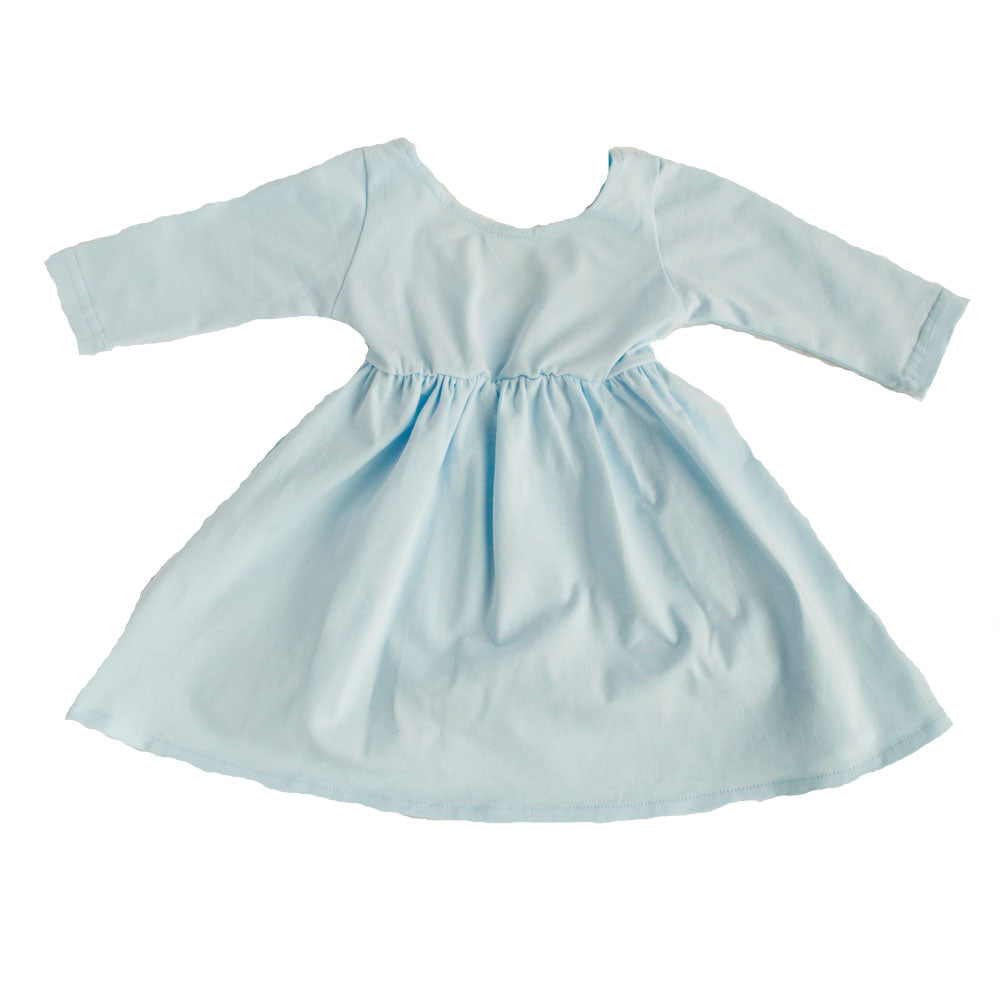 Swing Dress Baby Blue