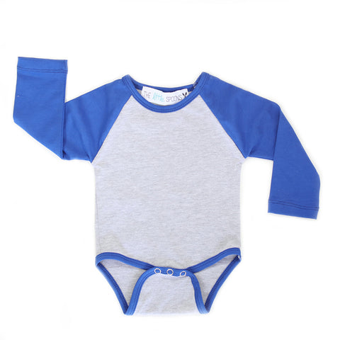 Home Run Tee Royal Blue Onesie