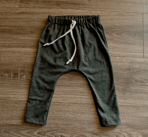 DOOR BUSTER: Charcoal Gray Slim Joggers