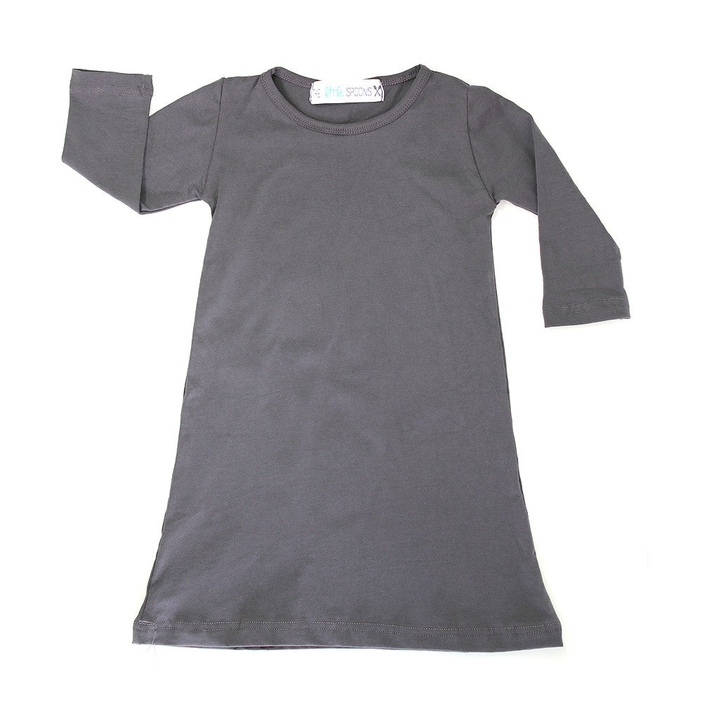 Charcoal Gray Play Dress
